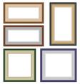 Multicolor frameworks vector