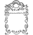 Frame calligraphy vector