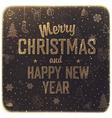 Vintage merry christmas design vector