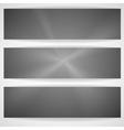 Metal texture banner vector
