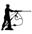 Jack-leg drill vector