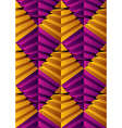 3d abstract pyramids seamless pattern geometric vector