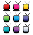 Tv sets vector