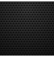 Black metal texture with holes vector