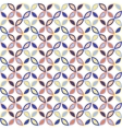 Seamless bright geometric circle pattern vector