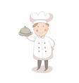 Cartoon of cook vector