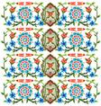 Ottoman motifs design series fifty eight vector