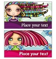 Fashion cards 1 vector