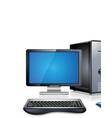 Computer workstation vector