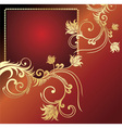 Golden card vector