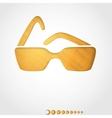 Summer background sunglasses vector