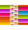 Colorful rainbow pencil pattern vector
