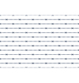 Barbed wire background vector