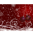 Christmas new year card vector