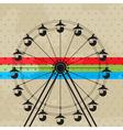 The fun wheel vector