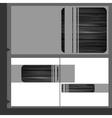 Metal texture background vector