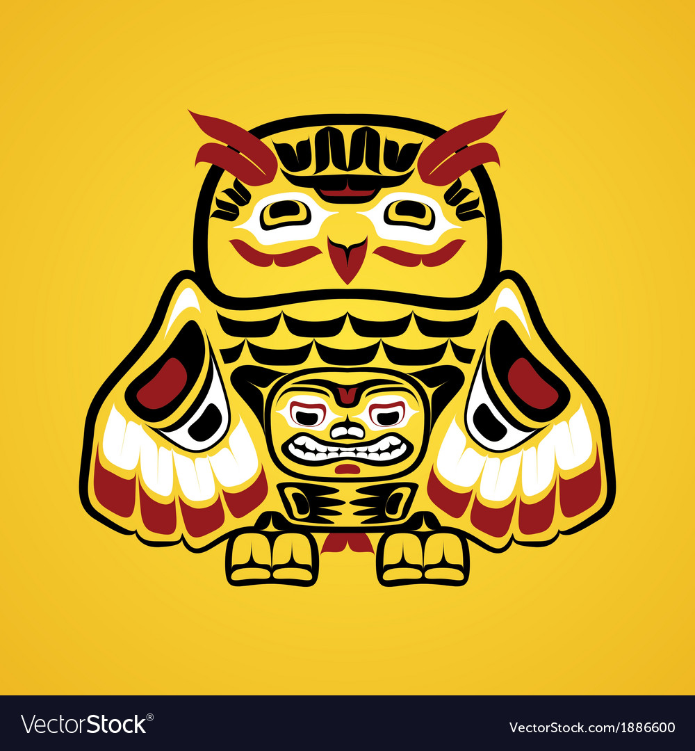 An owl vector | Price: 1 Credit (USD $1)
