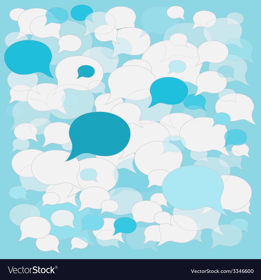 Background speech bubbles vector   Price: 1 Credit (USD $1)