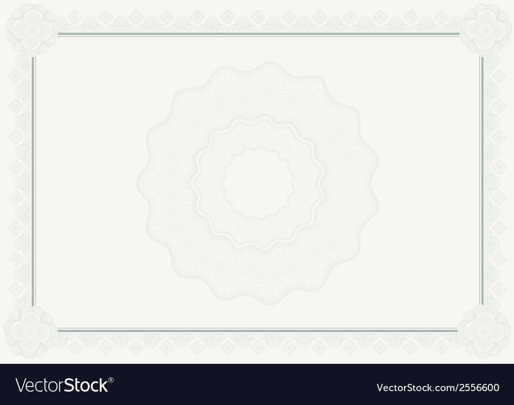 Diploma certificate vector | Price: 1 Credit (USD $1)