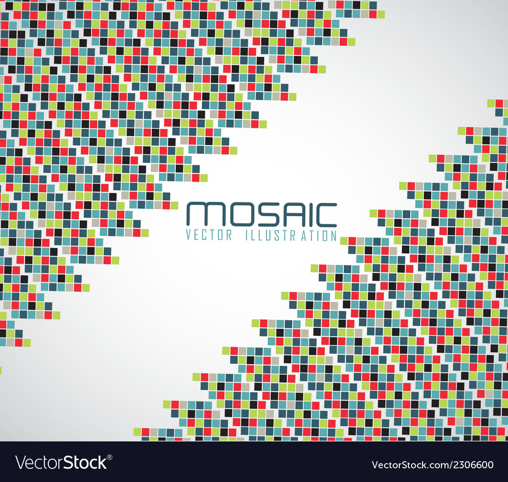 Mosaic of color vector | Price: 1 Credit (USD $1)