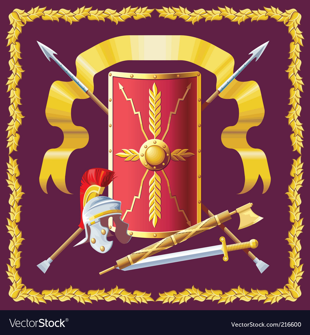 Roman armament vector | Price: 1 Credit (USD $1)