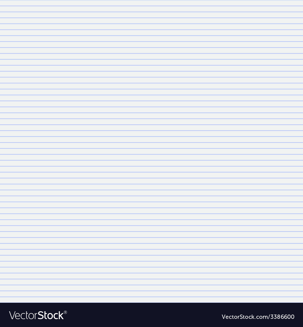 Seamless pattern paper exercise book in a line vector   Price: 1 Credit (USD $1)