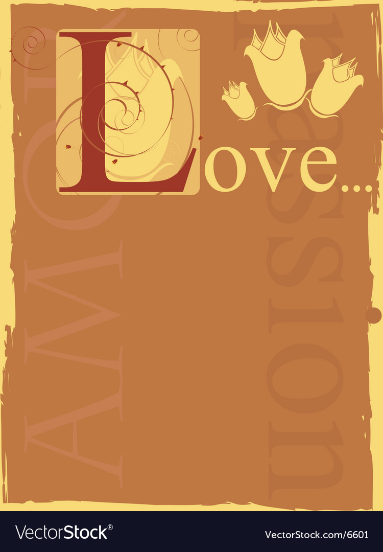Passion vector | Price: 1 Credit (USD $1)