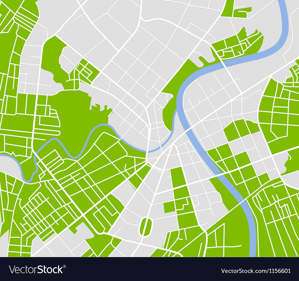 Street map vector | Price: 1 Credit (USD $1)