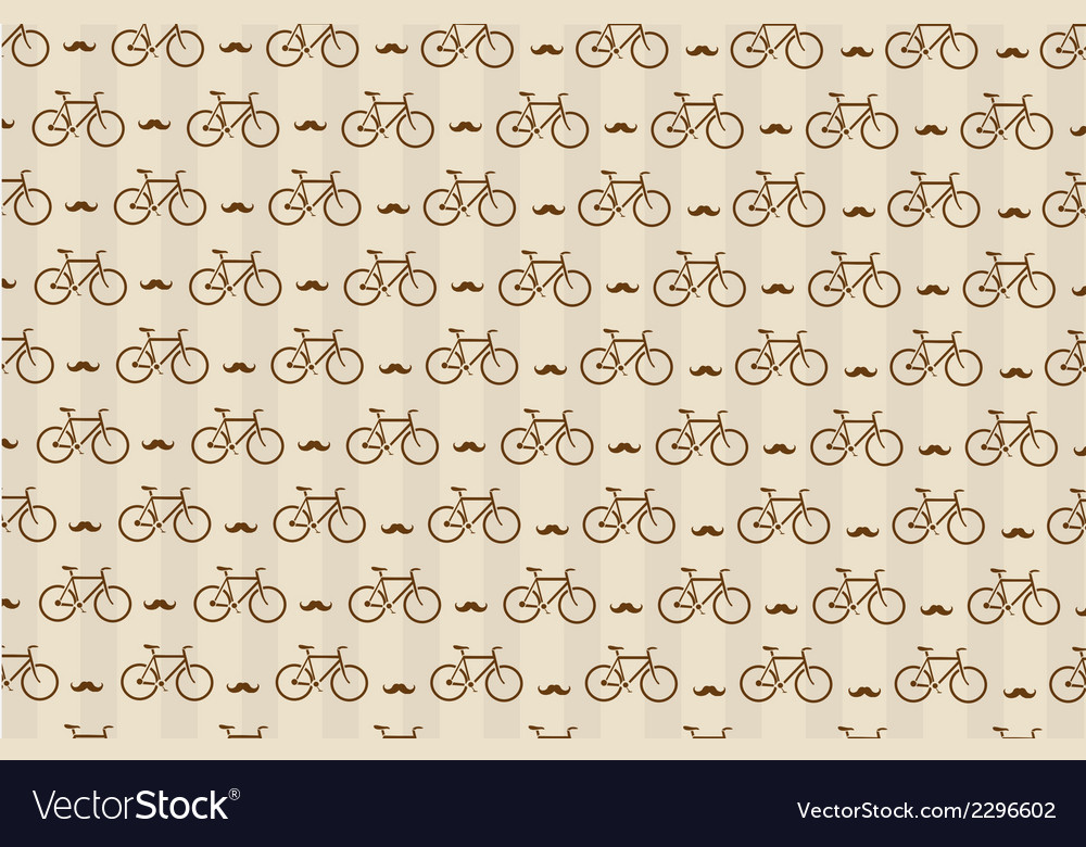 Hipster background with a bicycle vector | Price: 1 Credit (USD $1)