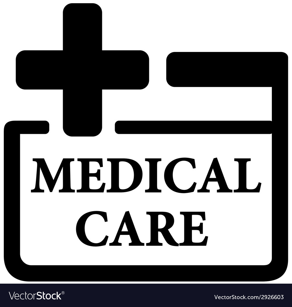 Medical care icon vector | Price: 1 Credit (USD $1)