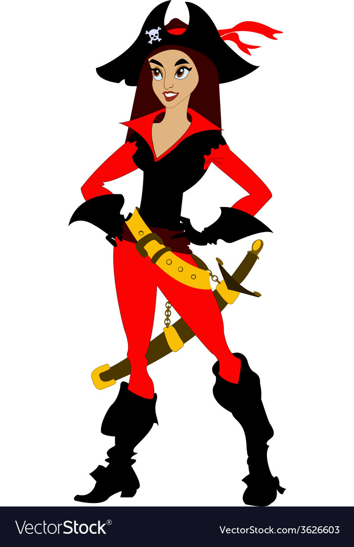 Pirate3 vector | Price: 1 Credit (USD $1)