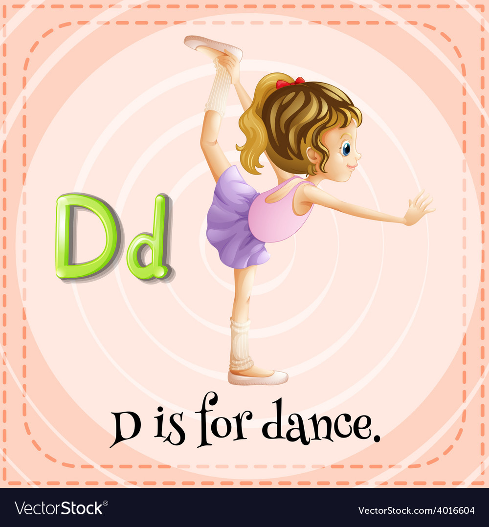Letter d vector   Price: 1 Credit (USD $1)