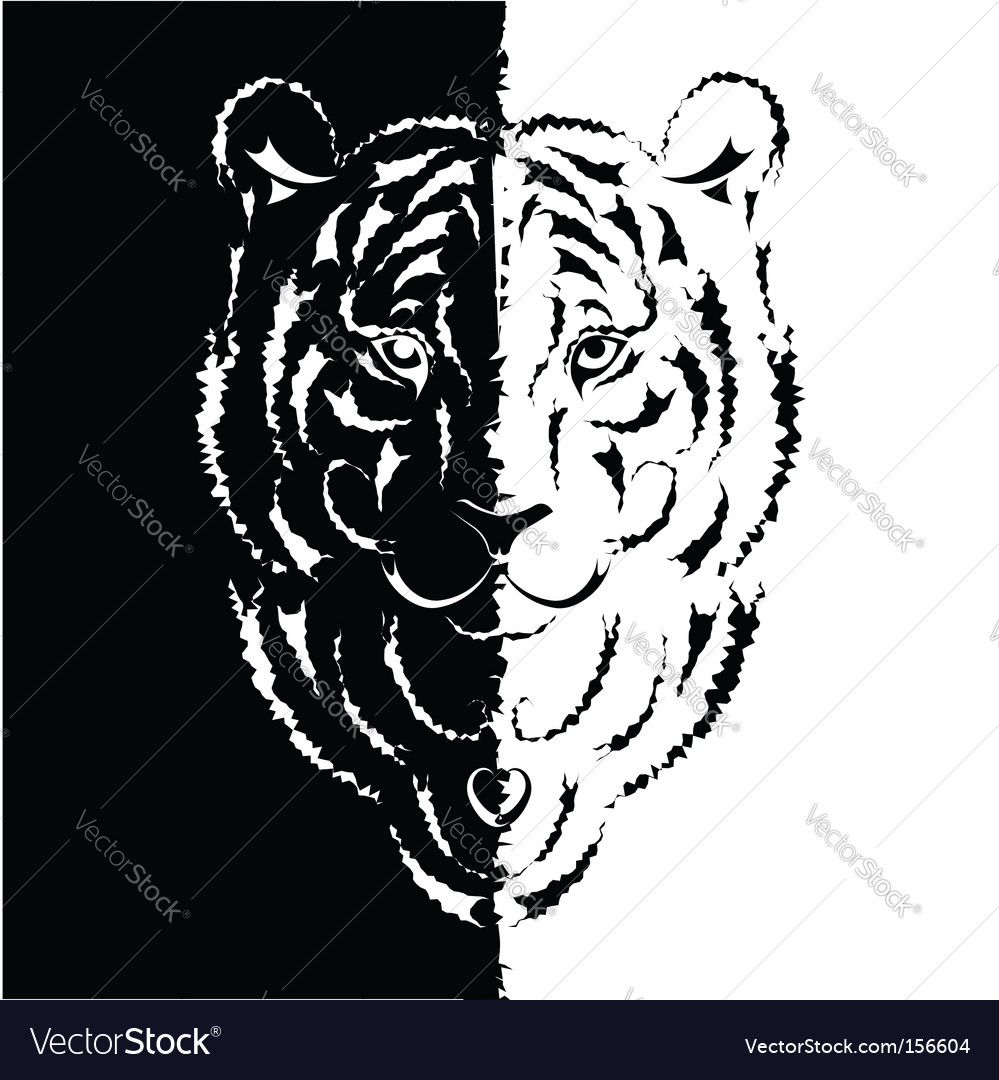 Tiger symbol 2010 vector | Price: 1 Credit (USD $1)