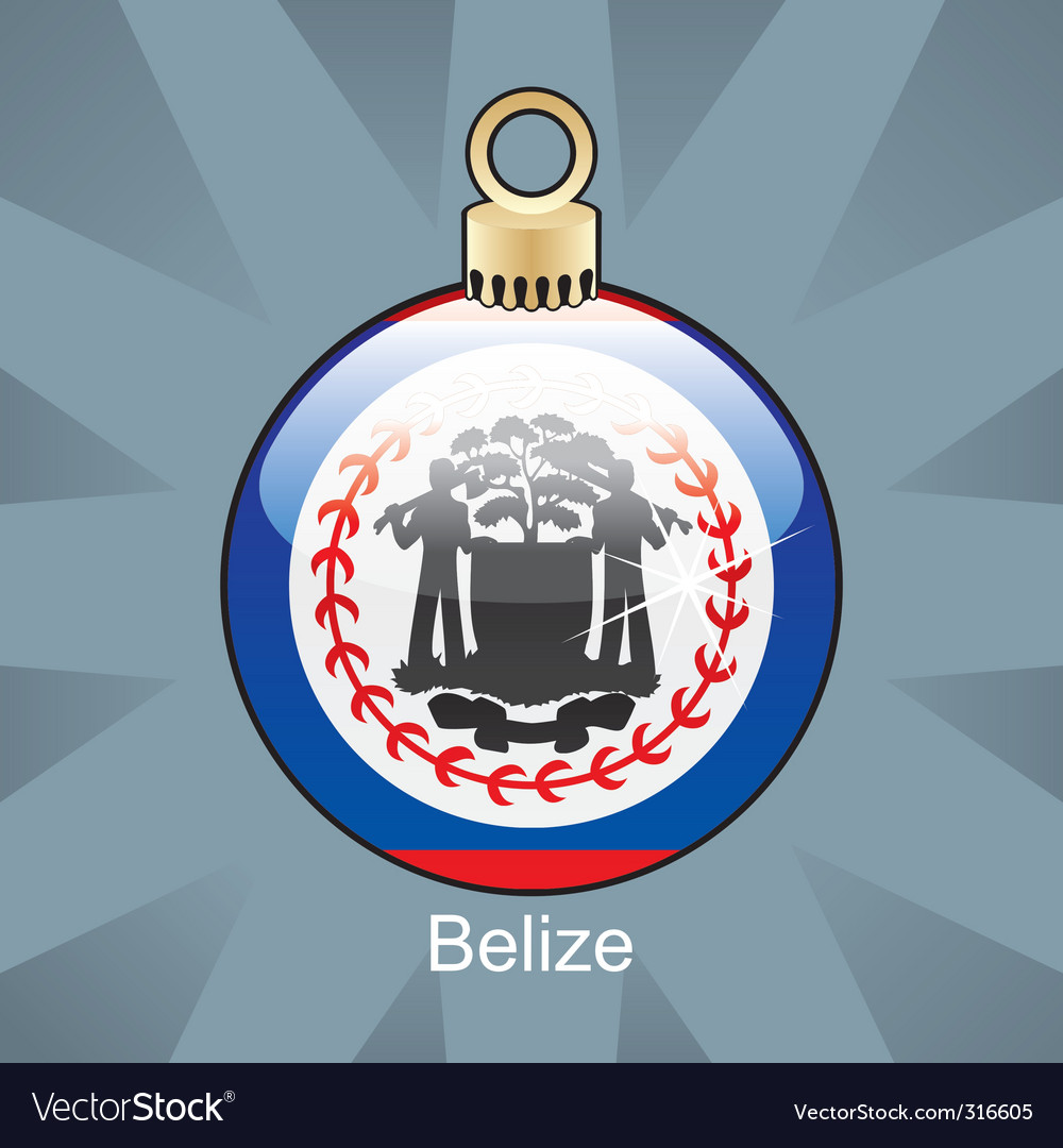 Belize flag vector | Price: 1 Credit (USD $1)
