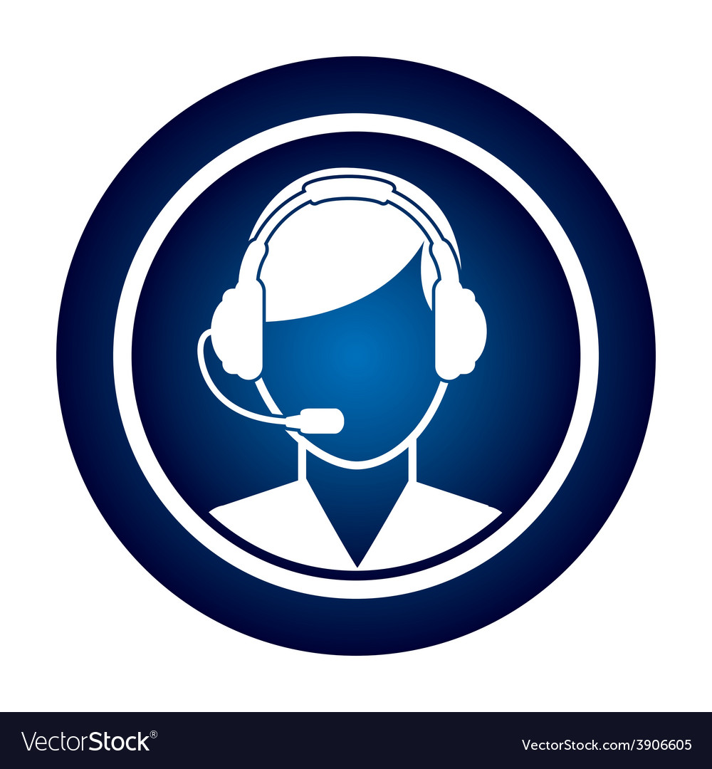 Call center vector | Price: 1 Credit (USD $1)