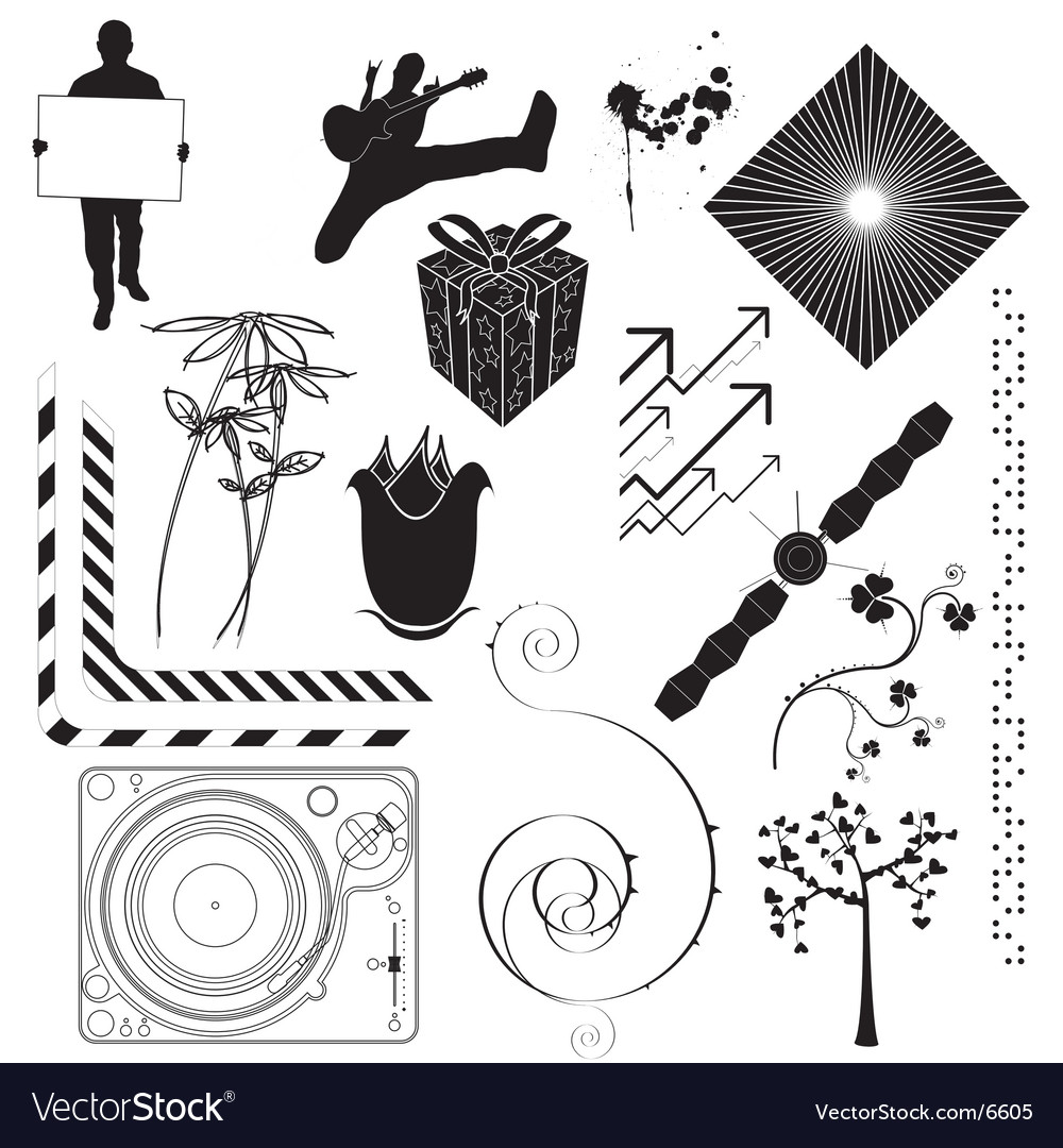 Decorative elements vector   Price: 1 Credit (USD $1)