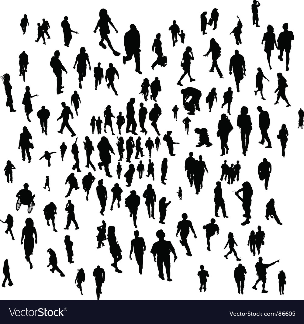Everyday people vector