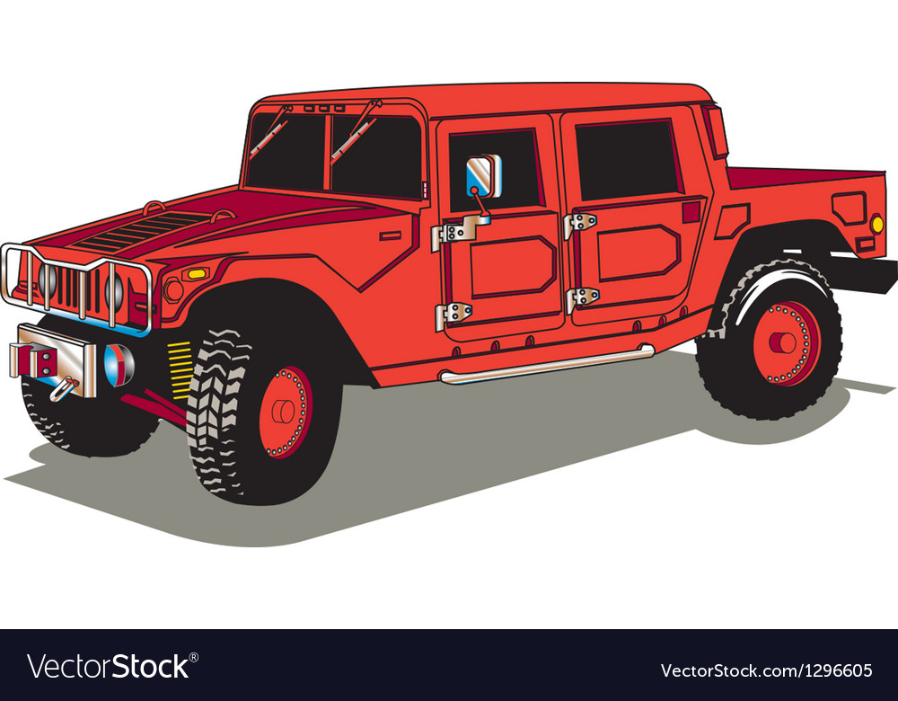 Hummer vector | Price: 1 Credit (USD $1)