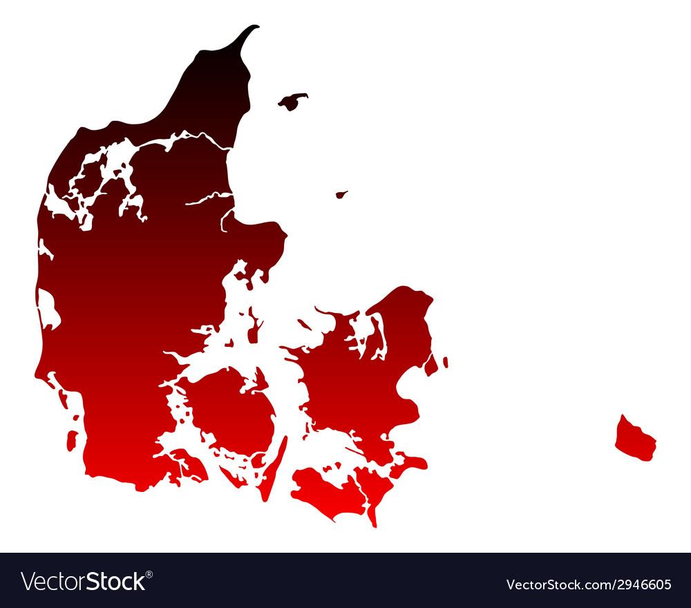 Map of denmark vector   Price: 1 Credit (USD $1)