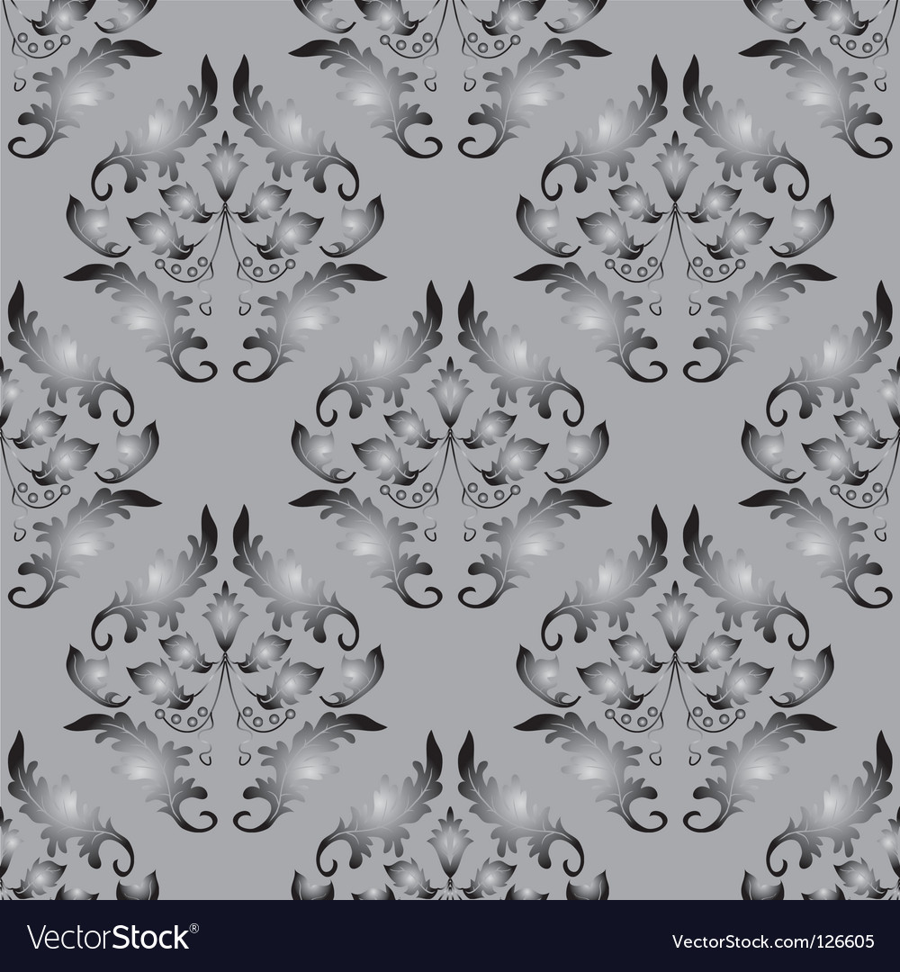 Seamless background gray and black vector | Price: 1 Credit (USD $1)