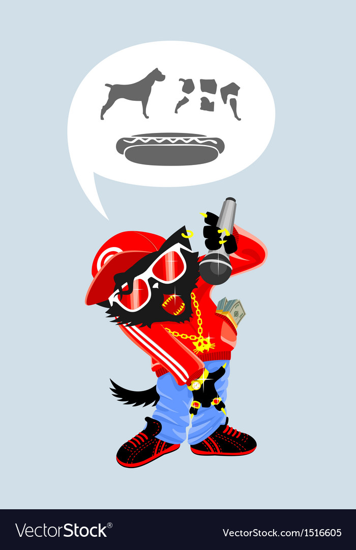 Severe cat rap vector | Price: 1 Credit (USD $1)
