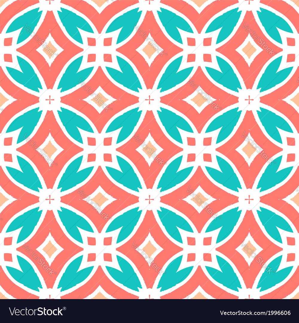 Multicolor ethnic pattern vector | Price: 1 Credit (USD $1)