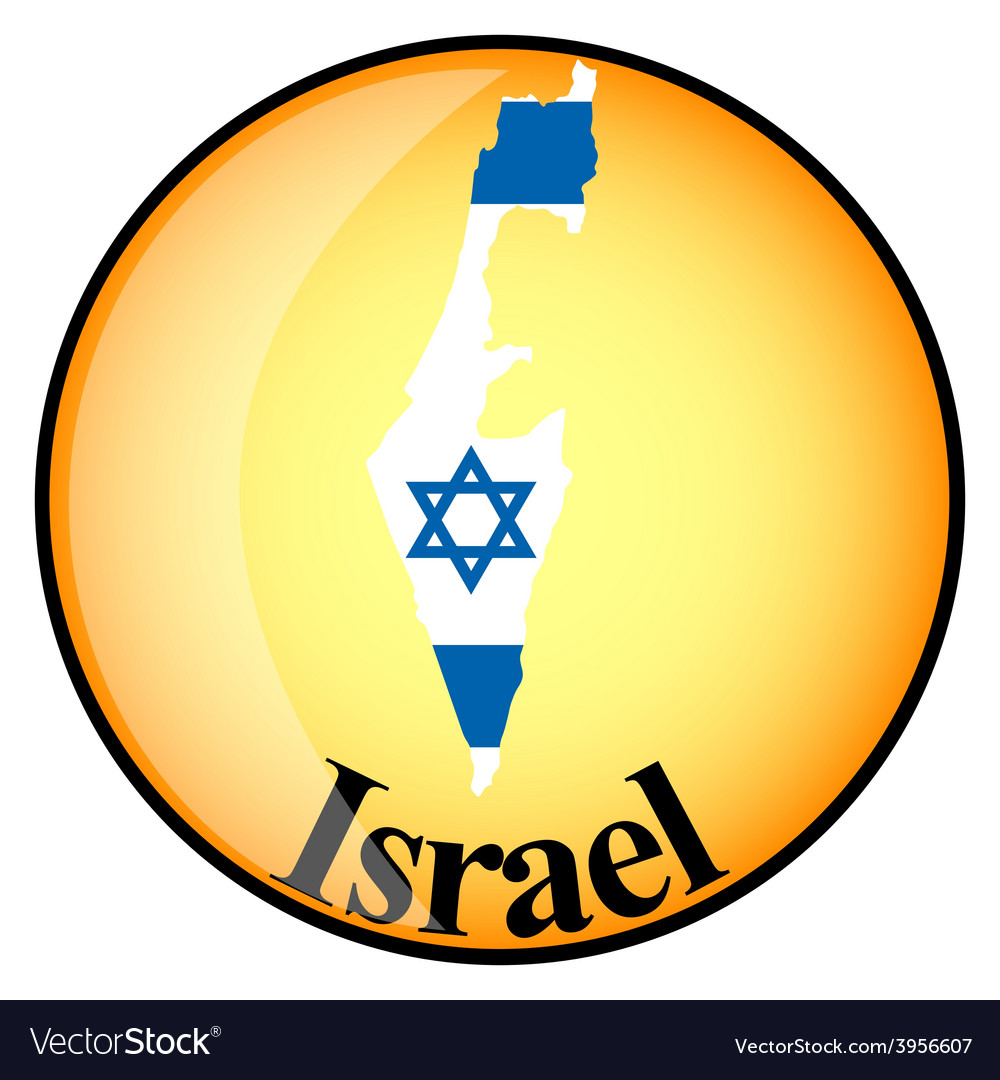 Button israel vector | Price: 1 Credit (USD $1)