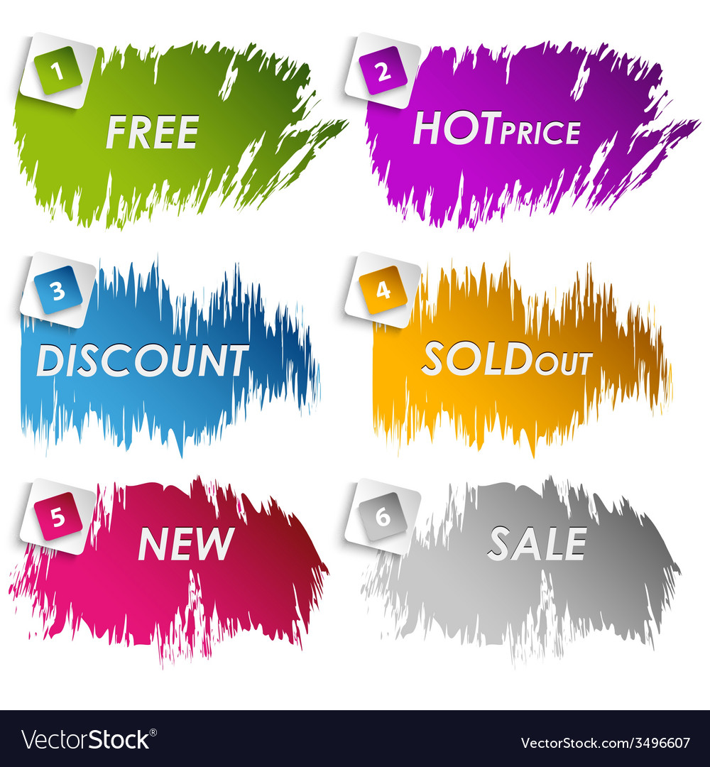 Color stains for sale discount vector | Price: 1 Credit (USD $1)