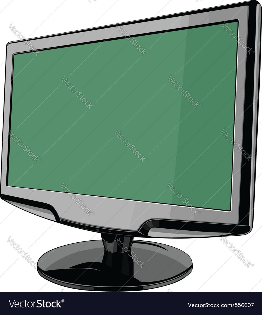 Monitor vector | Price: 1 Credit (USD $1)
