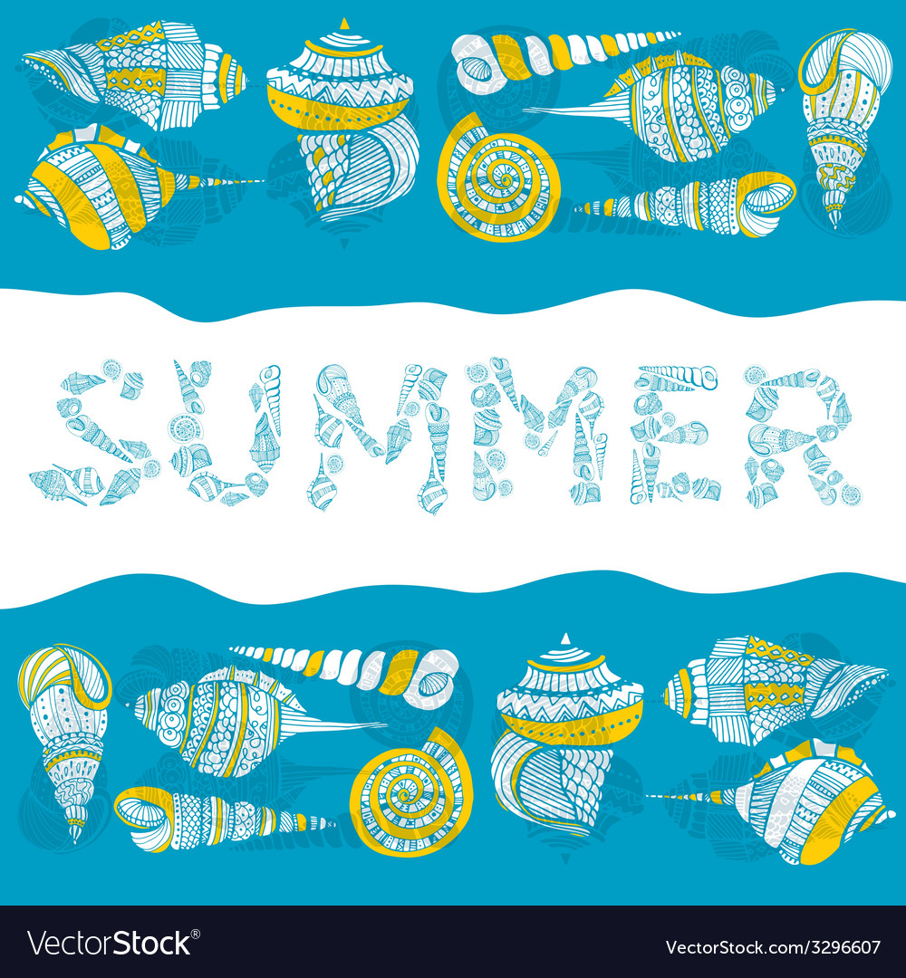 Summer concept vector | Price: 1 Credit (USD $1)