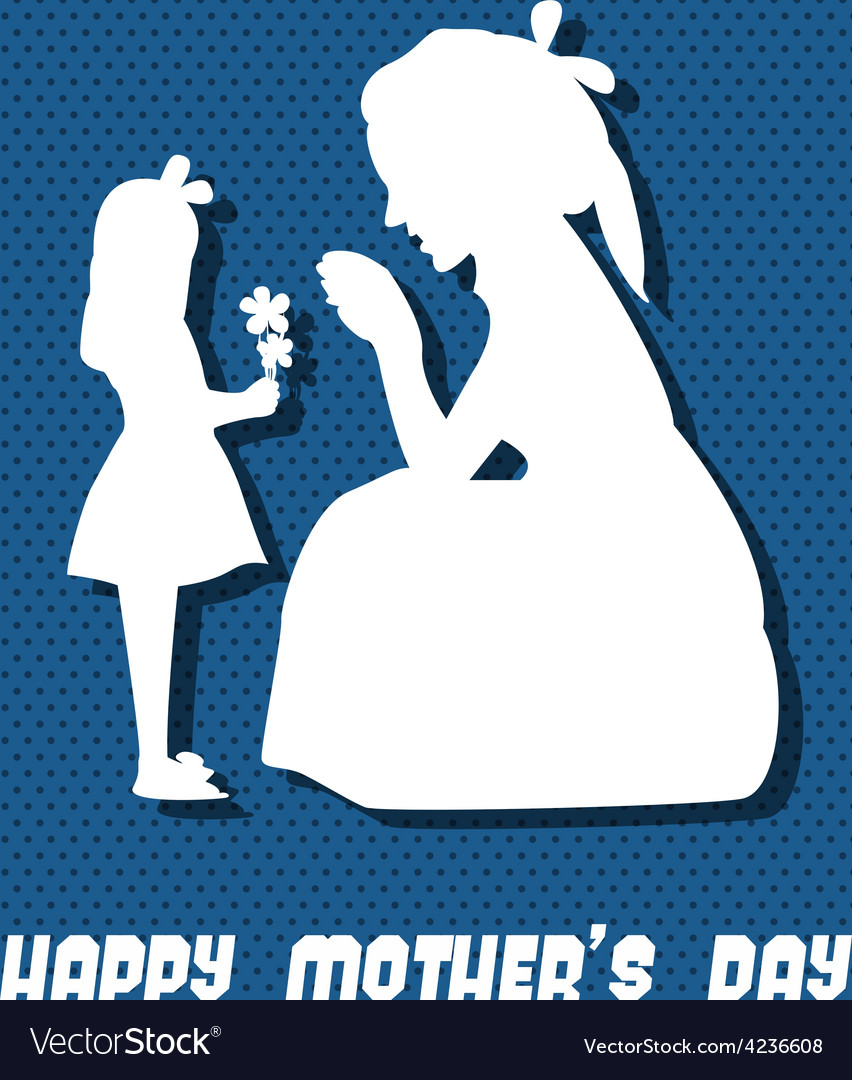 Happy mothers day celebration vector | Price: 1 Credit (USD $1)