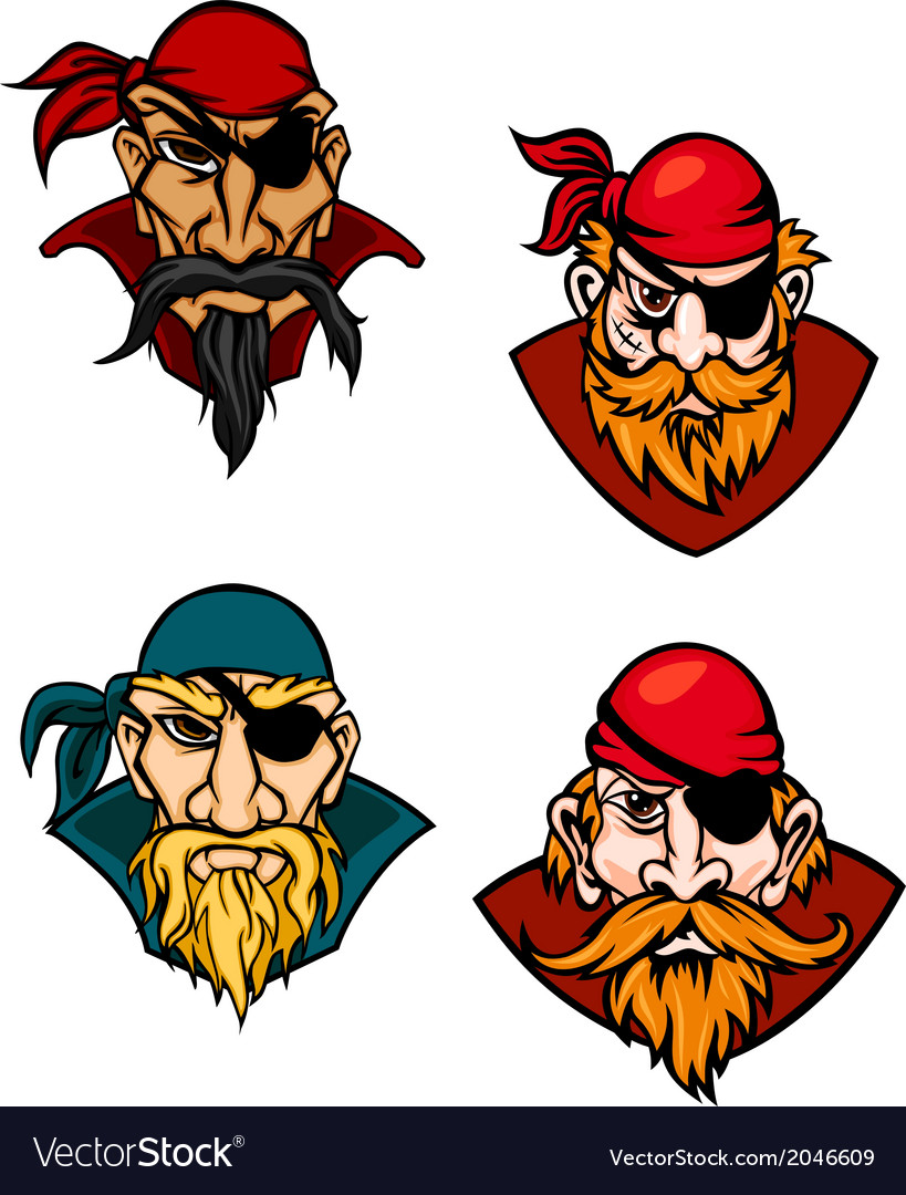 Old danger pirates vector | Price: 1 Credit (USD $1)