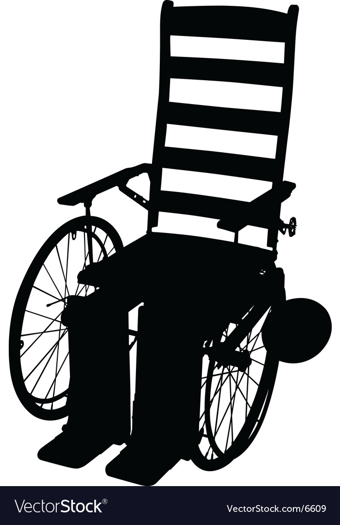 Vintage wheelchair vector | Price: 1 Credit (USD $1)