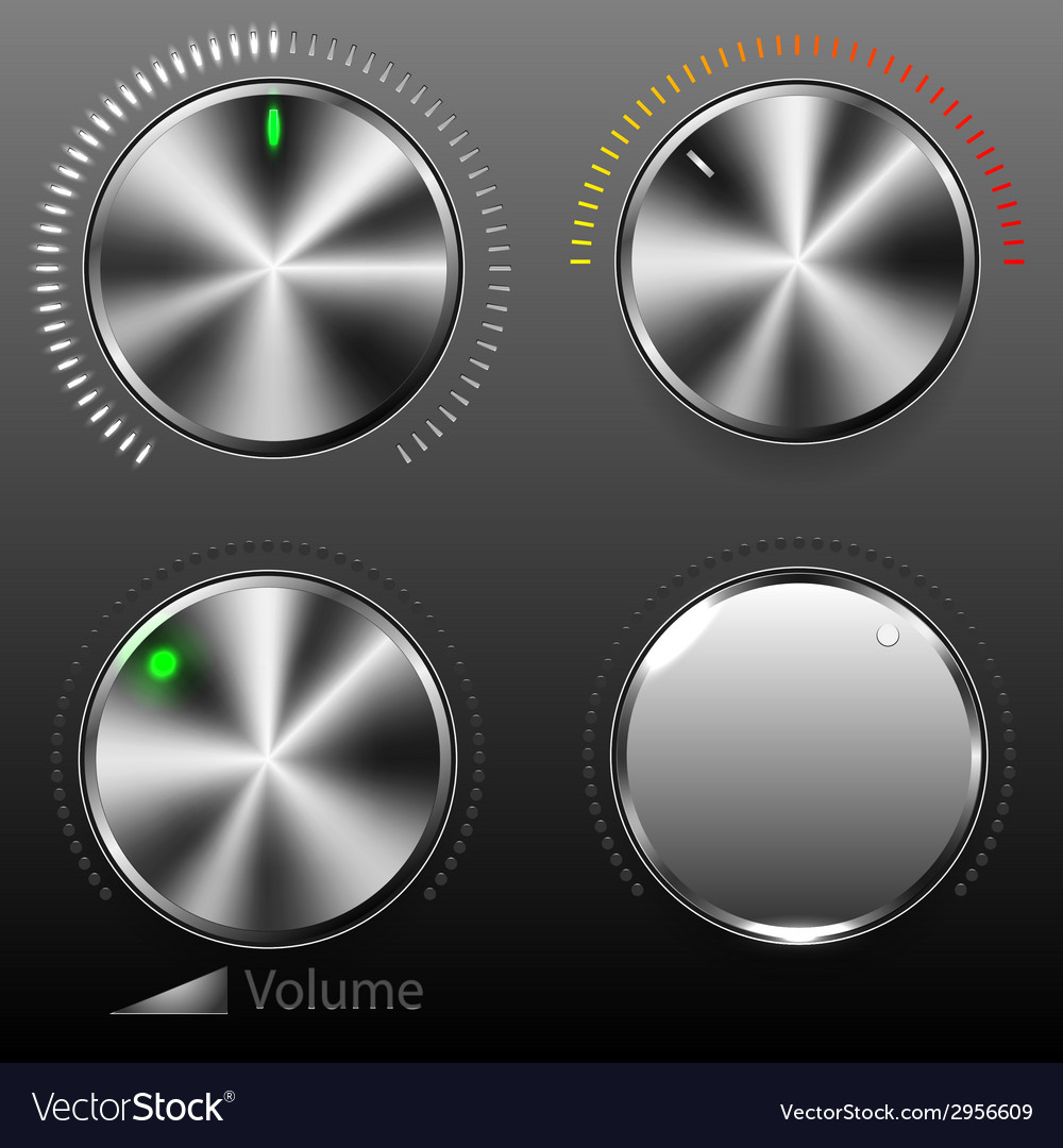 Volume buttons vector | Price: 1 Credit (USD $1)